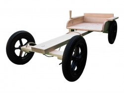 The Wooden Soap Box Kombi Go-Kart