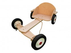 Children's Wooden Urban Go-kart