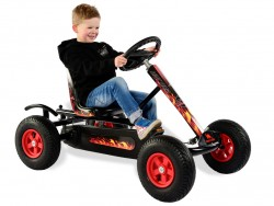 DINO Junior BF1 Hot Rod Go Kart plus Free Passenger Seat