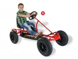 DINO Sprint AF Pedal Go-Kart plus Free Passenger Seat