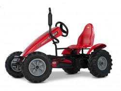 BERG Case IH Trac Pedal Go-Kart plus Free Passenger Seat
