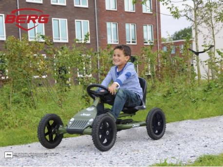 BERG JEEP Junior Childrens Pedal Go Kart