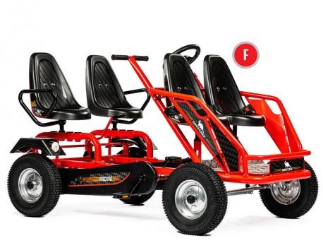 DINO Family Train Go Kart