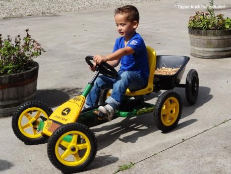 BERG Buddy John Deere Kid's Pedal Go Kart
