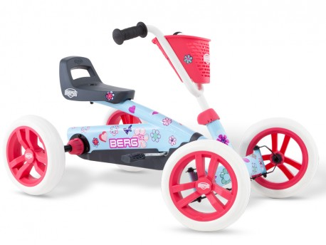 BERG Buzzy Bloom Go Kart for Younger Children Aged 2 to 5 Years Old