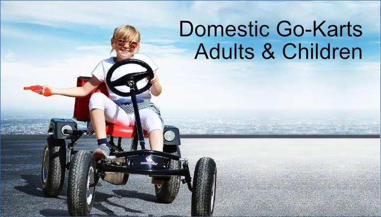 Domestic Go-Karts for Adults & Children