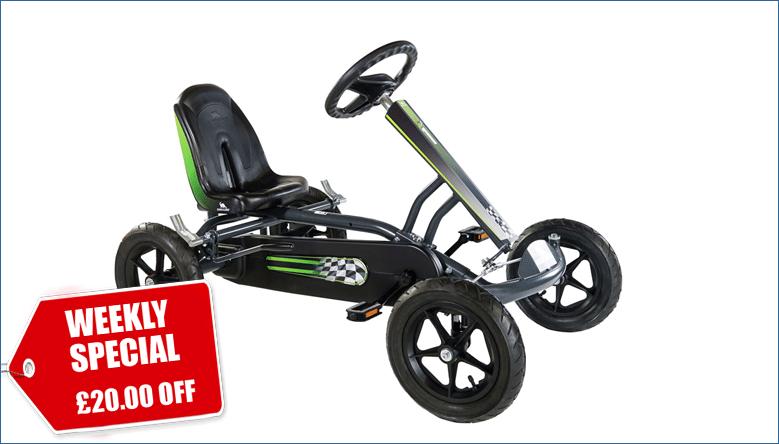 Weekly Special: £20.00 Off our DINO Speedy AF Kids Go-Kart